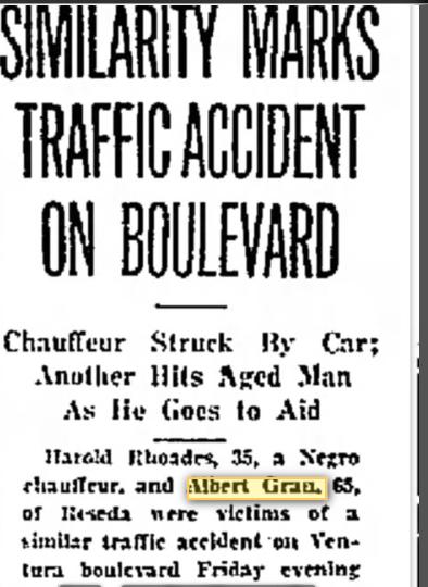 Albert Gran death